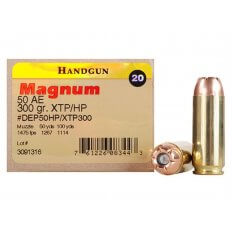 Hornady Magnum Research .50 Action Express 300 Gr. Hornady XTP Jacketed Hollow Point- Box of 20