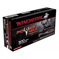 Winchester Power Max Bonded .300 Winchester Short Magnum (WSM) 180 Gr. Protected Hollow Point X300WSMBP