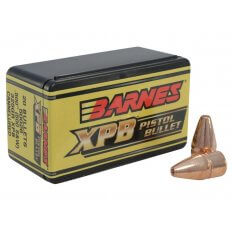 Barnes Bullets .500 S&W (.500 Diameter) 325 Gr. XPB Solid Copper Hollow Point- Lead-Free- Box of 20