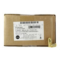 Remington UMC .45 ACP 230 Gr. Full Metal Jacket- Bulk Pack of 500