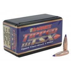 Barnes Bullets .264 Caliber / 6.5mm (.264 Diameter) 100 Gr. Tipped TSX  Spitzer Boat Tail- Lead-Free- Box of 50