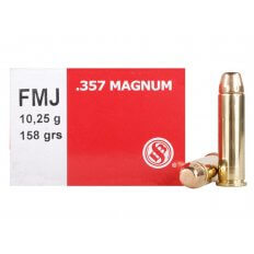 Sellier & Bellot .357 Magnum 158 Gr. Full Metal Jacket- Box of 50