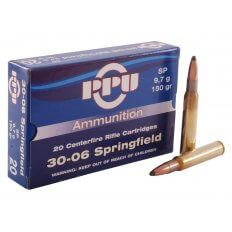 Prvi Partizan .30-06 150 Gr. Soft Point- Box of 20