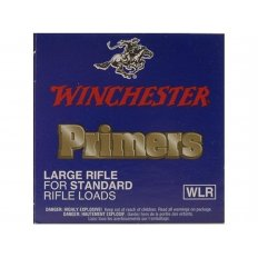Winchester Large Rifle Primers #8-1/2- Box of 1000 (HAZMAT Fee Required)