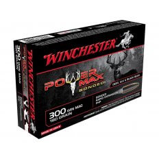 Winchester Power Max Bonded .300 Winchester Magnum 180 Gr. Protected Hollow Point- Box of 20