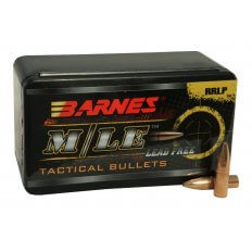 Barnes Bullets .22 Caliber (.224 Diameter) 55 Gr. RRLP Frangible Flat Base- Lead-Free 30161