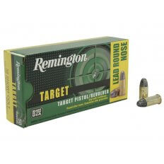 Remington Target .38 Short Colt 125 Gr. Lead Round Nose- Box of 50