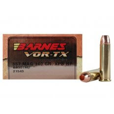 Barnes VOR-TX .357 Magnum 140 Gr. XPB Hollow Point Lead-Free- Box of 20