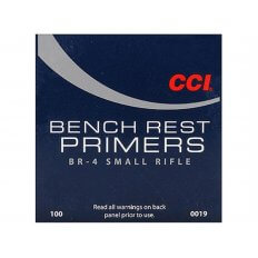 CCI Small Rifle Bench Rest Primers #BR4- Box of 1000 (HAZMAT Fee Required)