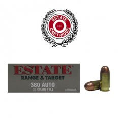 Estate Range & Target .380 Auto 95 Gr. FMJ- Box of 50