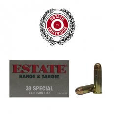 Estate Range & Target .38 Special 130 Gr. FMJ- Box of 50