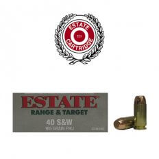 Estate Range & Target .40 S&W 165 Gr. FMJ- Box of 50