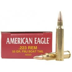 Federal American Eagle .223 Remington 55 Gr. FMJBT- Box of 20