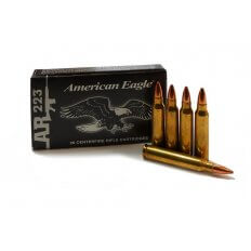 Federal American Eagle .223 Remington 55 Gr. Full Metal Jacket- Box of 20
