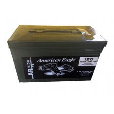 Federal American Eagle 5.56x45mm NATO 55 Gr. FMJ- Mini Can of 120