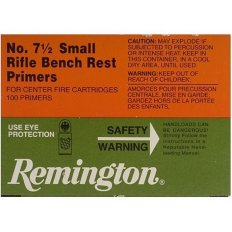 Remington Small Rifle Bench Rest Primers #7-1/2- Box of 1000 (HAZMAT Fee Required)