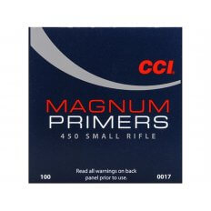 CCI Small Rifle Magnum Primers #450- Box of 1000 (HAZMAT Fee Required)