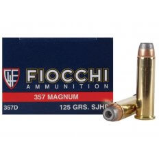 Fiocchi Shooting Dynamics .357 Magnum 125 Gr. Semi-Jacketed Hollow Point- Box of 50