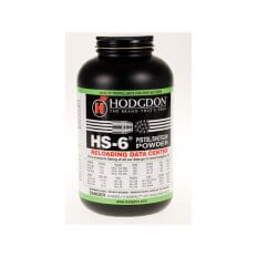 Hodgdon HS6 Smokeless Powder- 1 Lb. (HAZMAT Fee Required)