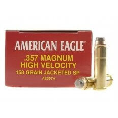 Federal American Eagle .357 Magnum 158 Gr. Jacketed Soft Point- Box of 50