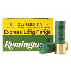 "Remington Express 16 Gauge 2-3/4"" 1-1/8 oz #4 Shot- Box of 25"