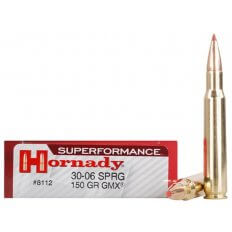 Hornady SUPERFORMANCE .30-06 Springfield 150 Gr. GMX Boat Tail- Box of 20
