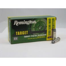 Remington Target .38 Special 158 Gr. Lead Semi-Wadcutter- Box of 50