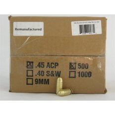 Northern Hills Precision .45 ACP 230 Gr. FMJ- Remanufactured- Box of 500