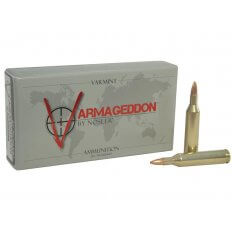 Nosler Varmageddon .17 Remington 20 Gr. Hollow Point Flat Base- Box of 20