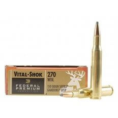 Federal Premium Vital-Shok .270 Winchester 150 Gr. Sierra GameKing Boat Tail- Box of 20