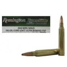 Remington HyperSonic .300 Winchester Magnum 180 Gr. Core-Lokt Ultra Bonded Pointed Soft Point- Box of 20