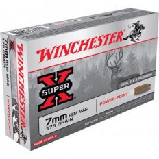 Winchester Super-X 7mm Remington Magnum 175 Gr. Power-Point- Box of 20