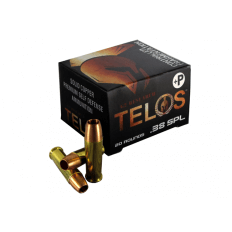 G2 Research Telos .38 Special +P 105 Gr. Solid Copper Fragmenting Projectile- Lead Free