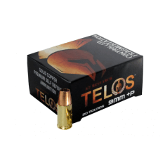 G2 Research Telos 9mm Luger +P 92 Gr. Solid Copper Fragmenting Projectile- Lead Free