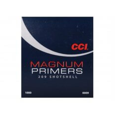 CCI Primers #209M Magnum Shotshell- Box of 1000 (HAZMAT Fee Required)