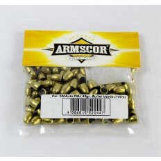 Armscor Bullets .380 Auto (.355 Diameter) 95 Gr. FMJ- Bag of 100