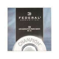 Federal Large Pistol Magnum Primers #155- Box of 1000 (HAZMAT Fee Required)