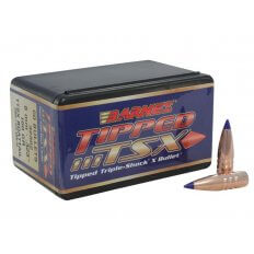 Barnes Bullets .323 Caliber / 8mm (.323 Diameter) 160 Gr. Tipped TSX Boat Tail- Lead-Free- Box of 50