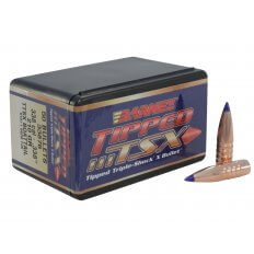 Barnes Bullets .338 Caliber (.338 Diameter) 210 Gr. Tipped Triple-Shock X Spitzer Boat Tail- Lead-Free 30428