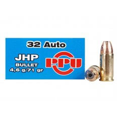 Prvi Partizan .32 ACP 71 Gr. Jacketed Hollow Point- Box of 50