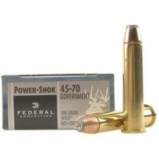 Federal Power-Shok .45-70 Government 300 Gr. Speer Hot-Cor Hollow Point- Box of 20