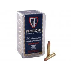 Fiocchi Shooting Dynamics .22 Winchester Magnum Rimfire (WMR) 40 Gr. Total Metal Jacket- Box of 500
