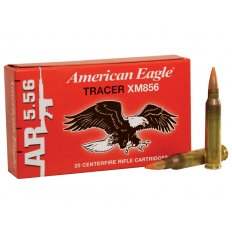 Federal American Eagle Tactical Tracer 5.56x45mm NATO 64 Gr. XM856 Full Metal Jacket Tracer XM856