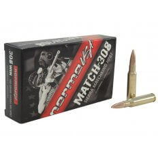 Norma USA Match .308 Winchester 168 Gr. Sierra MatchKing Hollow Point Boat Tail- Box of 20
