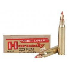 Hornady Varmint Express .223 Remington 40 Gr. V-Max- Box of 20