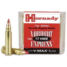 Hornady Varmint Express .17 HMR 17 Gr. V-Max- Box of 50
