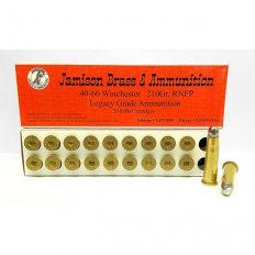 Jamison Legacy Grade .40-60 Winchester 210 Gr. Lead Round Nose Flat Point
