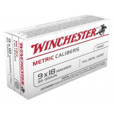 Winchester USA 9x18mm (9mm Makarov) 95 Gr. Full Metal Jacket- Box of 50