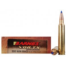 Barnes VOR-TX .300 Winchester Magnum 180 Gr. Tipped TSX Bullet Boat Tail Lead-Free- Box of 20