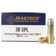 Magtech Sport .38 Special 158 Gr. Full Metal Jacket- Box of 50